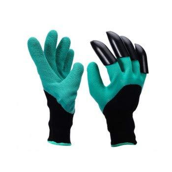 Browill Wasserdicht Gartenhandschuhe [1 Paar] langlebig stichsichere Safe Gartenarbeit Handschuhe mit ABS-Kunststoff krallen für Haushalt...