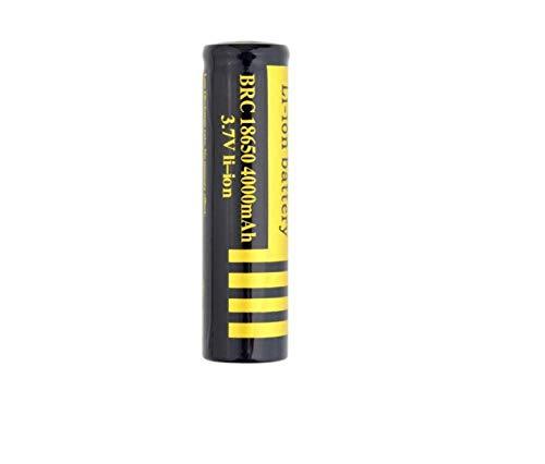 4pcs18650 batería de Litio 3.7v batería Recargable Gran Capacidad 4000mah deslumbramiento Linterna Ventilador pequeño