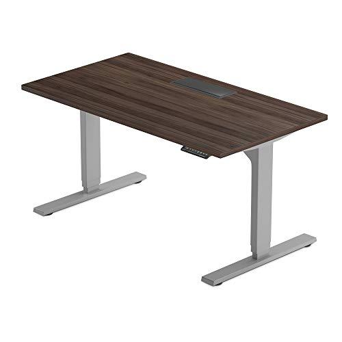 "Progressive Desk Electric Standing Desk 60""x30"", Adjustable Height Stand up desks for Home Office - Solo Ryzer"