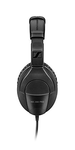 Closed Back vs Open Back Headphones - Sennheiser Pro Audio HD280PRO Headphone (new model)