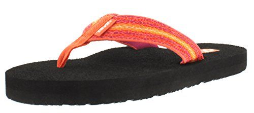 Teva Women's Mush II Sandal, Zoey Coral, 9 M US