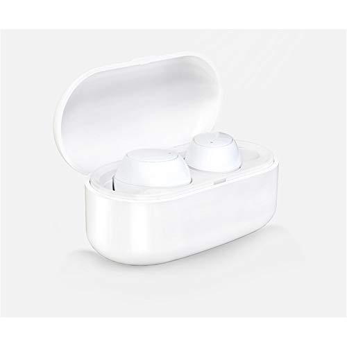 SHWEJ Bluetooth hoofdtelefoon, draadloze headset in ear bluetoothoothoothooth, draadloze mini draagbare stereo-installatie met draadloze bluetooth-headset en laadkist
