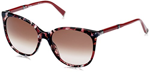 Max Mara MM Design II K8 H8C 56 Occhiali da Sole, Rosso (Redhvn Dkrut/Brown SF), Donna
