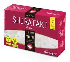 WokFoods Shirataki Konjac Preparación de alimentos con harina de Konjac Comida japonesa clásica - 1 x 300 gramos (peso escurrido 200 gramos)
