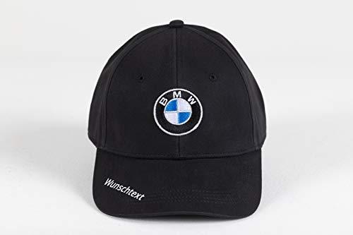 BMW Cap Logo Mütze Wunschtext individuell Geschenk Druck