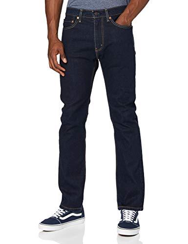 Levi's 505 Regular Jeans, Rinse STR, 34W / 32L Uomo