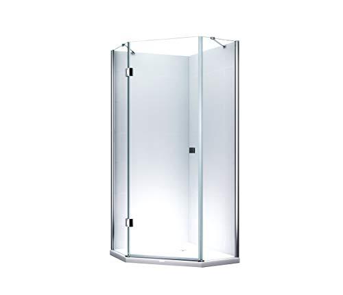 Glass ConCept 24-5Eck-Duschkabine 100x100cm