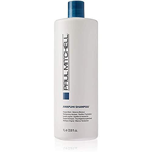 Paul Mitchell Awapuhi Shampoo - Haarwäsche in Friseur-Qualität für alle Haartypen, reichhaltiges Feuchtigkeits-Shampoo, 1000 ml