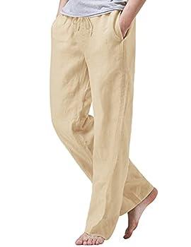 mens linen pants drawstring
