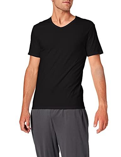 Abanderado ASA040X, Camiseta X-Temp con Manga corta para Hombre, Negro, Large (Tamaño del fabricante:L/52)