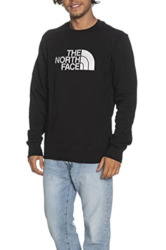 THE NORTH FACE Drew Peak Crew Sweatshirt Herren schwarz/weiß, L