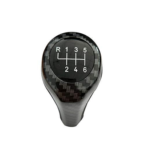 Iinger Ajuste Adecuado para la cabecera de Engranajes de Balonmano de Fibra de Carbono de 6 velocidades BMW (Color Name : Black)
