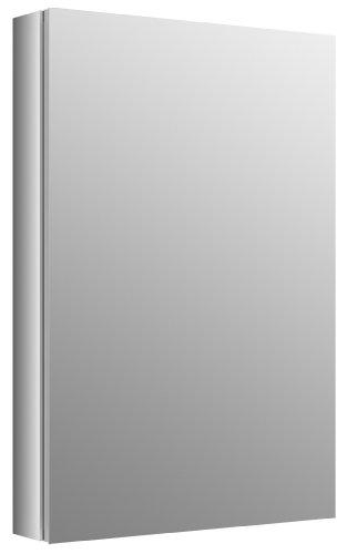 "Kohler Verdera 20"" W x 30"" H Aluminum Mirrored Medicine Cabinet (K-99002-NA)"