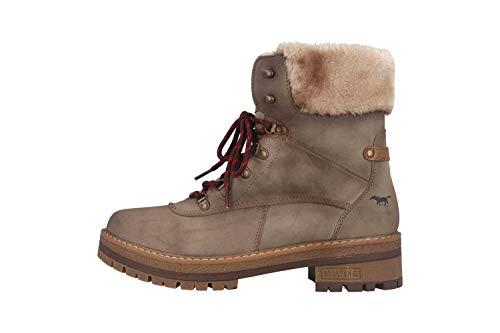 MUSTANG Shoes Boots in Übergrößen Taupe 1344-604-318 große Damenschuhe, Größe:43