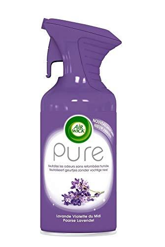 AIRWICK Pure luchtverfrisser spray - lavendel - verpakking van 3 (3 x 250 ml)