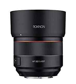 Rokinon 85mm F1.4 AF Lens for Canon EF Mount, Black (IO85AF-C) (B07F6SVTGY) | Amazon price tracker / tracking, Amazon price history charts, Amazon price watches, Amazon price drop alerts