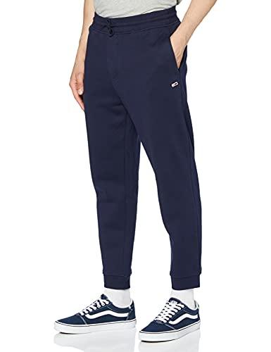 Tommy Jeans TJM Tommy Classics Sweatpant Pantalon, Bleu (Black Iris Cbk), W30 (Taille Fabricant: M) Homme