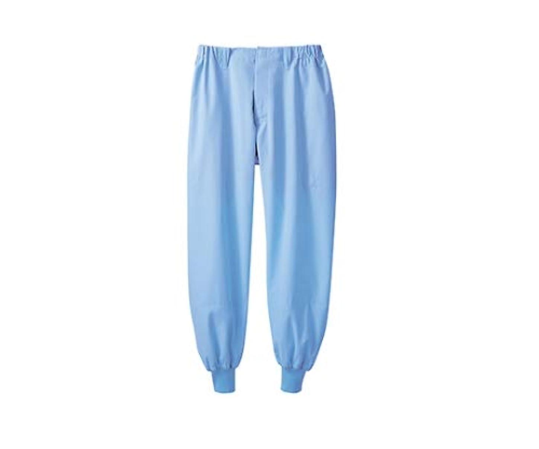 かろうじて静かに被害者パンツ男女兼用 ノータック ブルー/61-6155-99