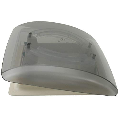 MPK Vision Vent S pro getönte Klarglas Dachluke Dachfenster Dachhaube Doppellplissee Insektenschutz 28 x 28 Wohnwagen Wohnmobil Caravan