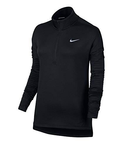 Nike Women s Therma Sphere Element Running Top-Black-Medium