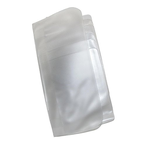 Buxton Vinyl Window Inserts for Secretary or Checkbook Wallet (Pack of 2), Clear