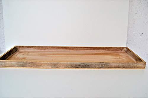 Holztablett 60x20x3cm