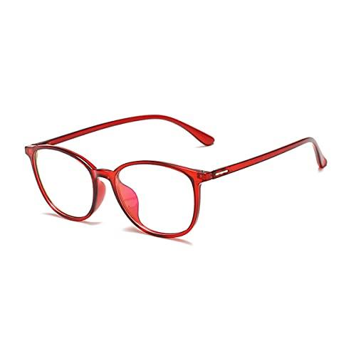 LGQ Gafas con Bloqueo de luz Azul, Gafas antidolor de Cabeza y Ojos, Gafas para Juegos de Ordenador, Montura TR90 Unisex,03