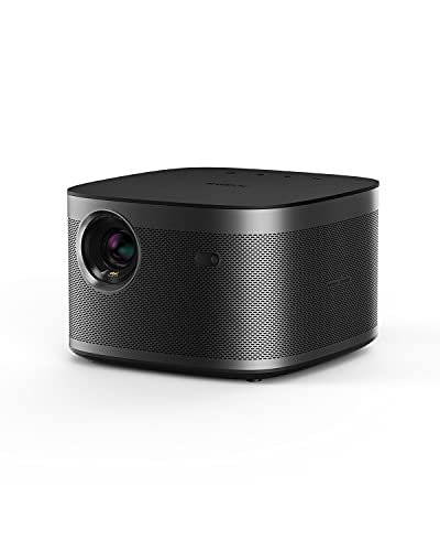 XGIMI Horizon Pro 4K Projector, 2200 ANSI Lumens, Android TV 10.0 Movie Projector with Integrated Harman Kardon Speakers, Auto Keystone Screen Adaption Home Theater Projector with WiFi Bluetooth