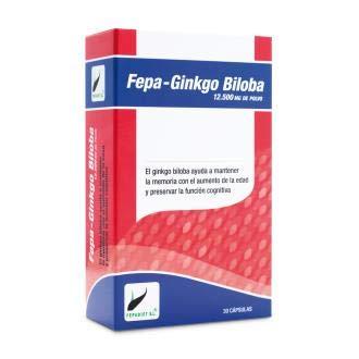 Fepa Fepa-Ginkgo Biloba 50:1 12500Mg. 30Cap. 1 Unidad 200 g