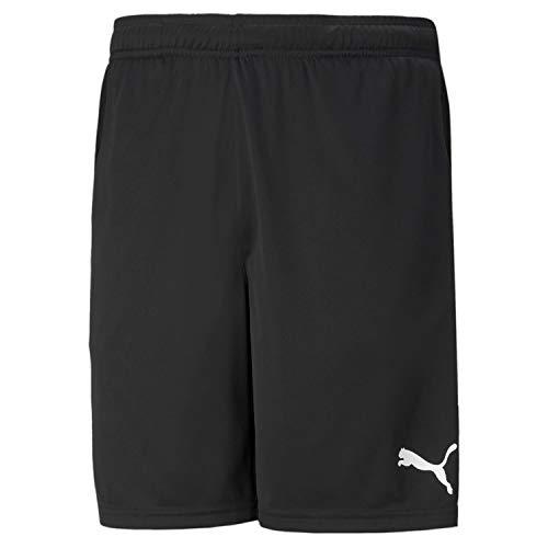 Puma Herren teamRISE Training Shorts Black White, L
