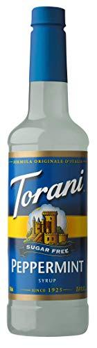 Torani Sugar Free Syrup, Peppermint, 25.4 Ounces