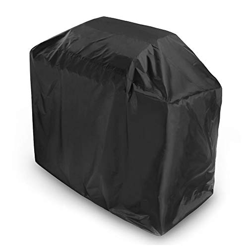 YMYP08 Outdoor BBQ Grill Cover Black Heavy Duty gasbarbecue-afdekking duurzaam Oxford Cloth UV/waterdichte opslag afdekking