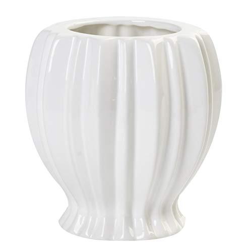 MILISTEN Keramik Vase für Home Decor 5 Zoll Moderne Keramik Vase für Blumen Pflanzen Durian Blume Vase Flasche für Home Décor Büro Dekoration