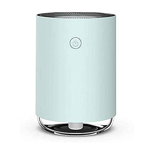 Difusor Mini, Mini atomización humidificador, Usb Inicio de escritorio portátil coche purificador de aire, Hogar Máquina aromaterapia, USB alimentado por,Blue