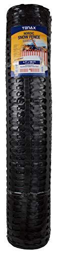 Tenax 90853709 Nordic, 4' x 100', Black