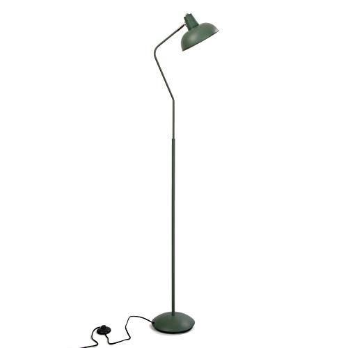 Versa 20840051 Lámpara de pie de Metal Azul Aguamarina, 150 x 22 x 29,5 cm
