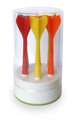 YOKO DESIGN 1230 Pique Apéritif Plastique/Céramique Bleu/Rose/Vert/Jaune/Rouge/Orange 10,30 cm
