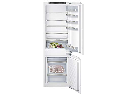 Siemens KI86SAFE0, iQ500, réfrigérateur-congélateur encastrable avec zone de congélation en dessous, 177,2 x 55,8 cm