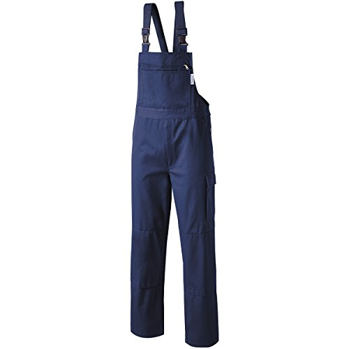 Pionier  workwear Herren Latzhose Cotton Pure in Marineblau (Art.-Nr. 9491) Marine,Größe 94