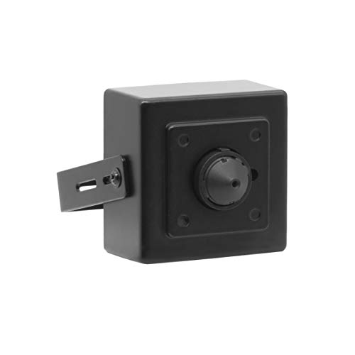 Vonnision 5MP POE IP Security Mini Hidden Camera, 3.7mm Wide Angle Pinhole Lens Indoor Spy Camera, (Work with Hikvision/Dahua/LTS PoE NVR)