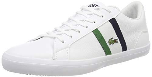 Lacoste Lerond 119 737cma0045042, Zapatillas para Hombre, Blanco (Wht/Nvy 042), 44 1/2 EU
