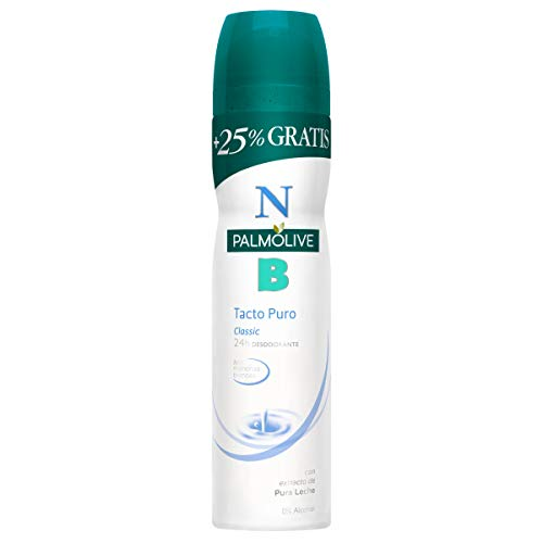 NB Palmolive Tacto Puro, Desodorante Spray, Lote 6 uds x 200 ml