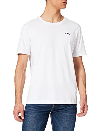 Fila Unwind Camiseta, Blanco Brillante, S para Hombre