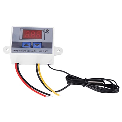 Wobekuy 220 V Regulador de temperatura LED digital 10 A Sonda interruptor de control termostato Novedad