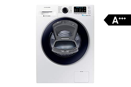 Samsung WW8EK5400UW/EG AddWash Waschmaschine FL / A+++ / 116 kWh/Jahr / 1400 UpM / 8 kg / Add Wash / Smart Check / Digital Inverter Motor