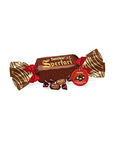 Sperlari - Zanzibarone, Torroncini Assortiti con Gianduia e Cioccolato Fondente, Senza Glutine, Confezione Regalo - 350 gr