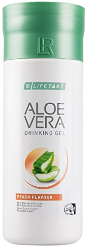 LR LIFETAKT Aloe Vera Drinking Gel Pfirsich Nahrungsergänzungsmittel 1000 ml