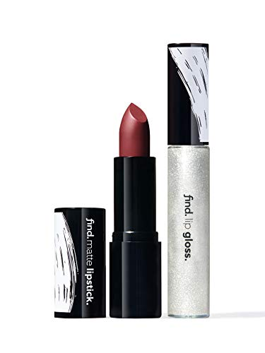 FIND - Ebony Touch (Lippenstift, matt n.8 + Lipgloss n.4)