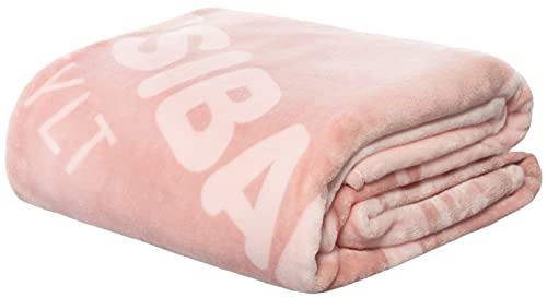 Sansibar Wohndecke Reservation Scull Kuscheldecke Tagesdecke Sofadecke Microfaser ca.150x200 cm Pink