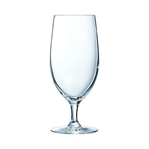 Chef & Sommelier Cabernet Tulip Biertulpe, Bierglas, 460ml, Krysta Kristallglas, transparent, 6 Stück, 6